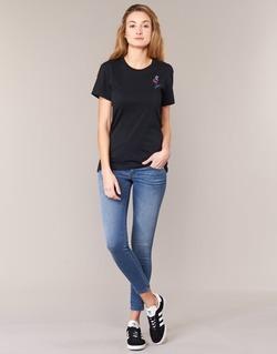 Abbigliamento Donna Jeans skynny Diesel SKINZEE LOW ZIP Blu