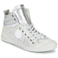 Scarpe Donna Sneakers alte Pataugas BANJOU/MT F2C Argento