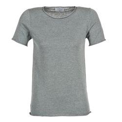 Abbigliamento Donna T-shirt maniche corte Casual Attitude GENIUS Grigio