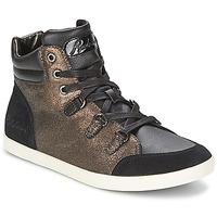Scarpe Donna Sneakers alte Redskins CADIX Nero / Bronzo