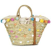 Borse Donna Tote bag / Borsa shopping Pepe jeans MARLEY Beige / Multicolore