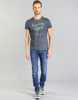 Abbigliamento Uomo Jeans dritti Pepe jeans TRACK Blu
