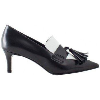 Scarpe Donna Classiche basse Tipe E Tacchi Shoes leather black and white
