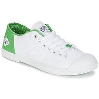 Scarpe Donna Sneakers basse Le Temps des Cerises BASIC 02 Bianco / Verde
