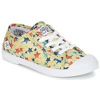 Scarpe Bambina Sneakers basse Le Temps des Cerises BASIC 02 Giallo