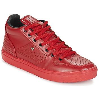 Scarpe Uomo Sneakers alte Cash Money SUNDAY Rosso