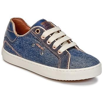 Scarpe Bambina Sneakers alte Geox J KIWI G. B Denim