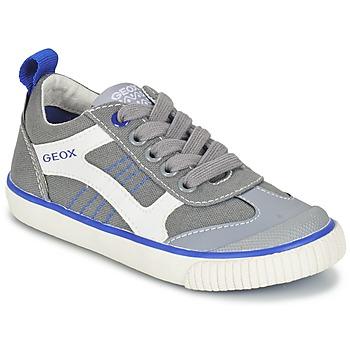 Scarpe Bambino Sneakers basse Geox J KIWI B. J Grigio