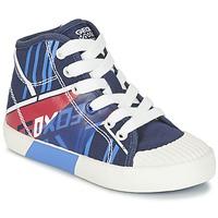 Scarpe Bambino Sneakers alte Geox J KIWI B. E Marine