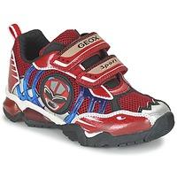 Scarpe Bambino Sneakers basse Geox J SHUTTLE B. B Rosso