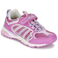 Scarpe Bambina Sneakers basse Geox J BERNIE G. A Rosa / LILA