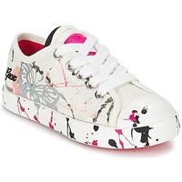 Scarpe Bambino Sneakers basse Geox J CIAK G. D Bianco / Rosa