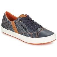 Scarpe Bambino Sneakers basse Geox J ALONISSO B. A MARINE / Marrone