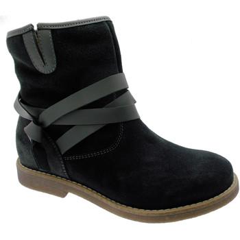 Scarpe Donna Stivaletti Loren art C3708  stivaletto anckle boot  camoscio grigio ortopedico p grigio