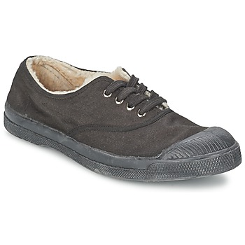 Scarpe Unisex bambino Sneakers basse Bensimon TENNIS FOURREES Grigio