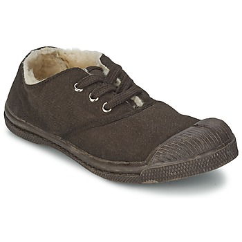 Scarpe Unisex bambino Sneakers basse Bensimon TENNIS FOURREES Cioccolato