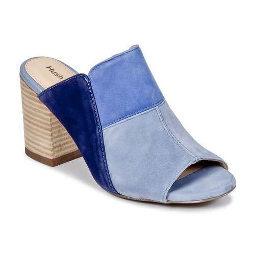 Scarpe Donna Ciabatte Hush puppies SAYER Blu
