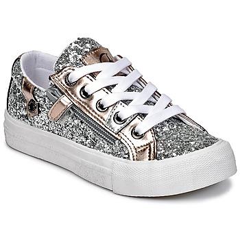 Scarpe Bambina Sneakers basse Kaporal AMBERA Argento