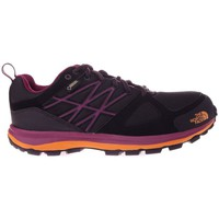 Scarpe Donna Trekking The North Face Litewave Goretex Nero-Viola