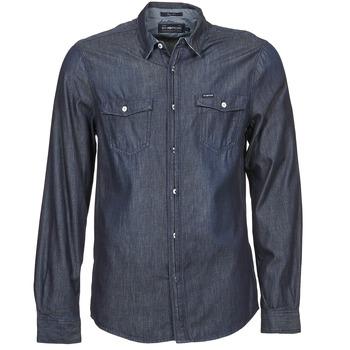 Abbigliamento Uomo Camicie maniche lunghe Energie VETTEL Blu
