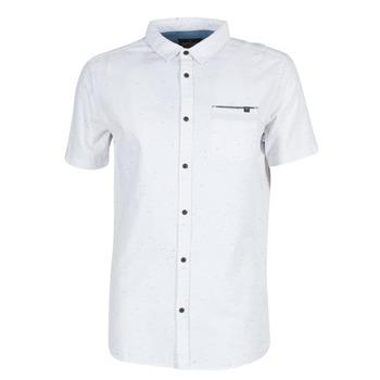 Abbigliamento Uomo Camicie maniche corte Rip Curl STARDUST Bianco
