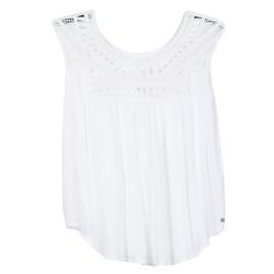 Abbigliamento Donna Top / T-shirt senza maniche Rip Curl AMOROSA TOP Bianco