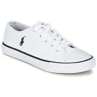 Scarpe Bambino Sneakers basse Ralph Lauren DYLAND Bianco