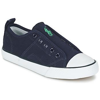 Scarpe Bambino Sneakers basse Ralph Lauren RYLAND MARINE