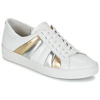 Scarpe Donna Sneakers basse MICHAEL Michael Kors CONRAD SNEAKER Bianco / Oro / Argento