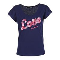 Abbigliamento Donna T-shirt maniche corte Love Moschino W4G4127 Blu