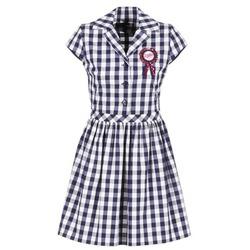 Abbigliamento Donna Abiti corti Love Moschino WVF3001 Blu / Bianco