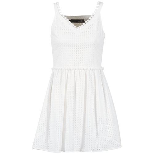 Abbigliamento Donna Abiti corti Love Moschino WVF3880 Bianco