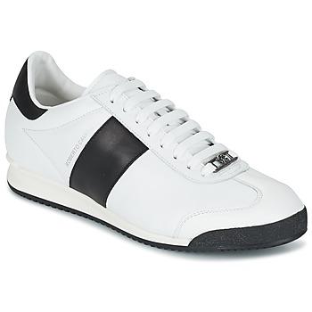 Scarpe Uomo Sneakers basse Roberto Cavalli 2042C Bianco / Nero