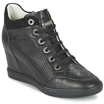 Scarpe Donna Sneakers alte Geox ELENI C Nero
