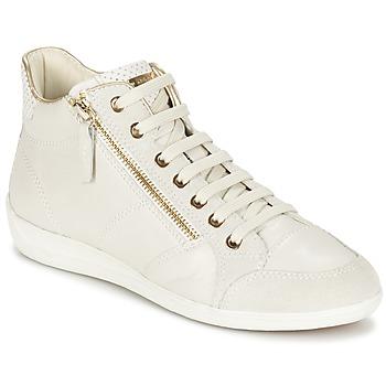 Scarpe Donna Sneakers alte Geox MYRIA Bianco