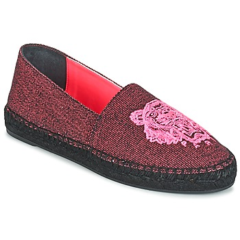 Scarpe Donna Espadrillas Kenzo TIGER FLUO CANVAS MIXED Rosa