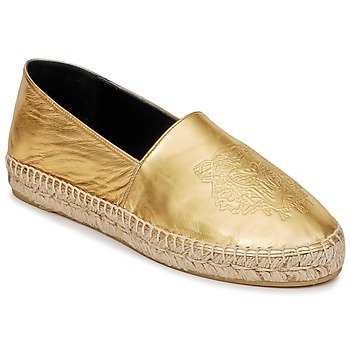 Scarpe Donna Espadrillas Kenzo TIGER METALIC SYNTHETIC LEATHER Oro