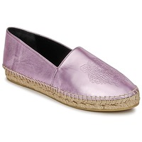 Scarpe Donna Espadrillas Kenzo TIGER METALIC SYNTHETIC LEATHER Rosa