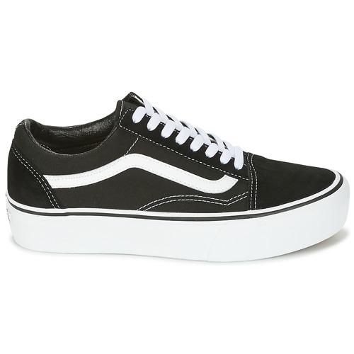 Old Gratuita Donna 7230 Scarpe Sneakers Vans Ua Skool NeroBianco Platfor Basse Consegna PkZXOiu