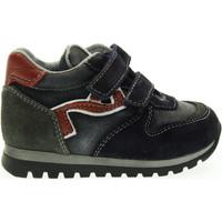 Scarpe Unisex bambino Sneakers basse Nero Giardini junior sneakers basse strappo A623950M/200 (19/22) Blu