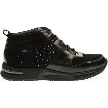 Scarpe Donna Sneakers alte CallagHan donna sneakers alta 92102 NERO Nero