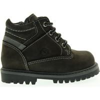 Scarpe Unisex bambino Stivali Nero Giardini junior boot A624050M/101 (20/22) Pelle