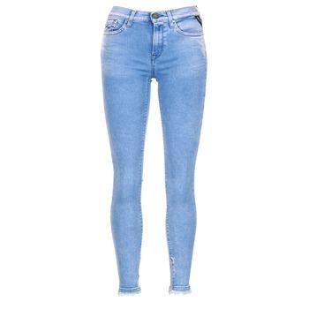 Abbigliamento Donna Jeans 3/4 & 7/8 Replay JOI Blu / Medium