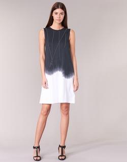 Abbigliamento Donna Abiti corti Replay WOOPINA Nero / Bianco
