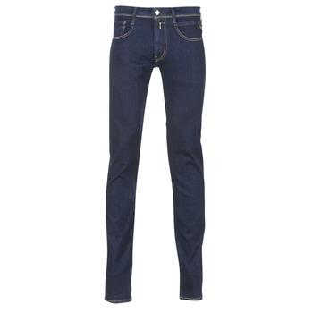Abbigliamento Uomo Jeans slim Replay WOUAPO Blu