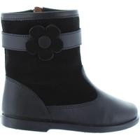 Scarpe Bambina Stivali Garatti AN0089 Negro