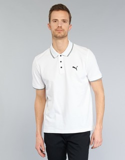 Abbigliamento Uomo Polo maniche corte Puma PUMA HERO POLO Bianco