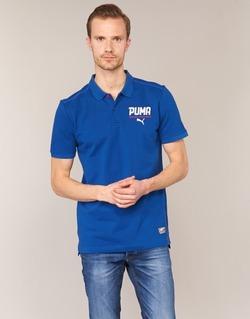 Abbigliamento Uomo Polo maniche corte Puma STYLE TEC POLO Blu