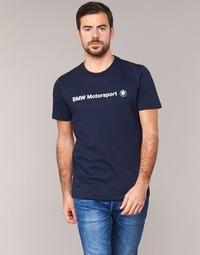 Abbigliamento Uomo T-shirt maniche corte Puma BMW MSP LOGO TEE MARINE