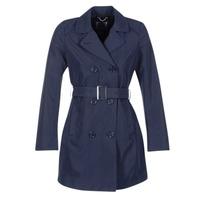 Abbigliamento Donna Trench Geox CREM MARINE